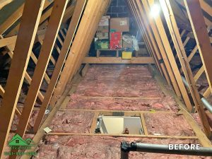 Insulation removal cleaning installation and storage (1)