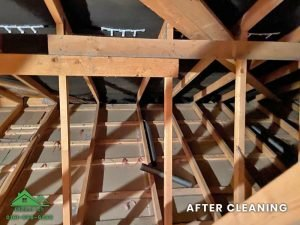 Insulation removal cleaning installation and storage (10)