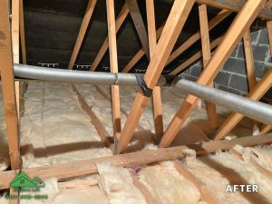 Insulation removal cleaning installation and storage (12)