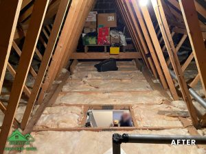 Insulation removal cleaning installation and storage (13)