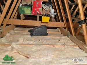 Insulation removal cleaning installation and storage (15)
