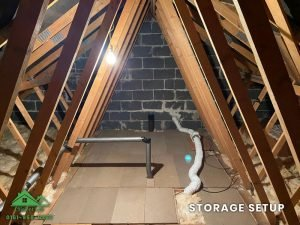 Insulation removal cleaning installation and storage (17)
