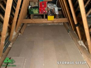 Insulation removal cleaning installation and storage (18)