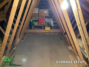 Insulation removal cleaning installation and storage (19)