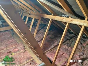 Insulation removal cleaning installation and storage (2)
