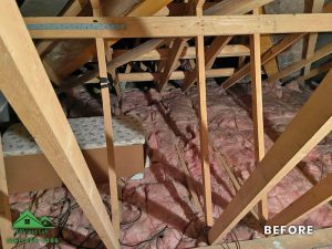 Insulation removal cleaning installation and storage (3)