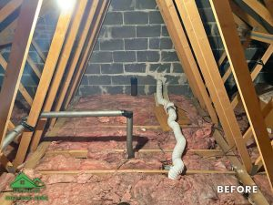 Insulation removal cleaning installation and storage (4)