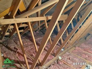 Insulation removal cleaning installation and storage (6)
