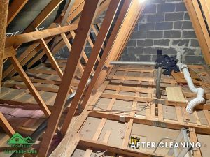 Insulation removal cleaning installation and storage (9)